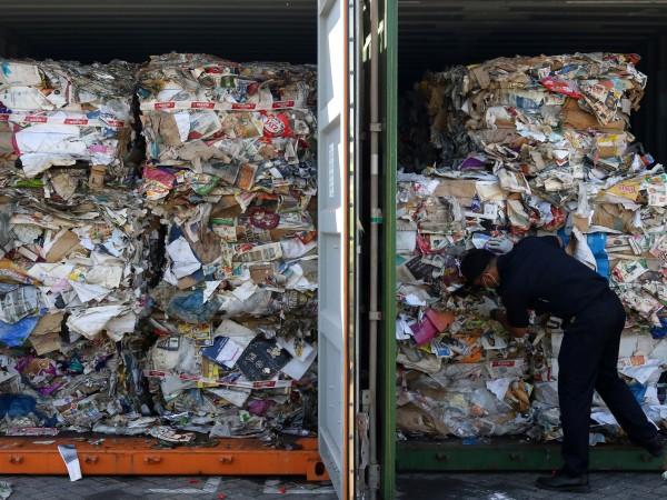Преди няколко дни бяха заловени 800 тона отпадъци, рацпределени в