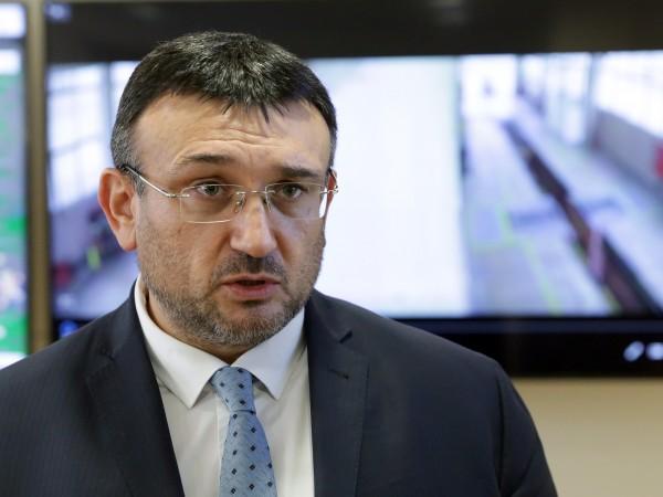 Министърът на вътрешните работи Младен Маринов отрече да са извършвани