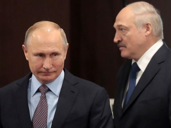 Президентите на Русия и Беларус се срещнаха в петък миналата