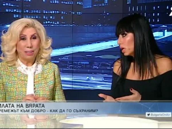 """""""Задължително е да вярваме в чудеса"""", каза певицата Силвия Кацарова"""