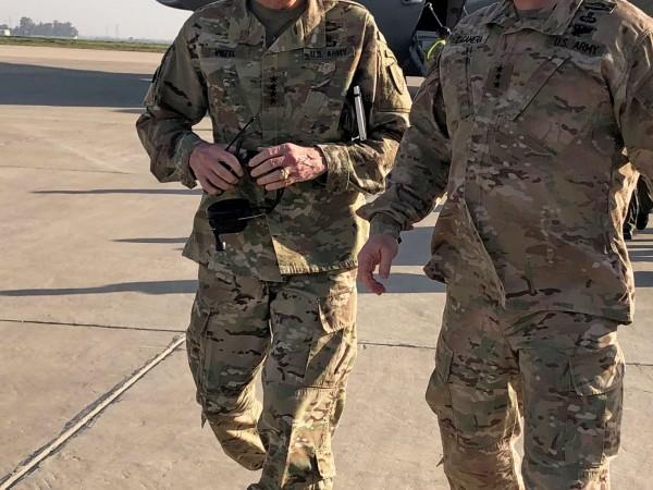 Американски цивилен подизпълнител е загинал при ракетно нападение вчера срещу
