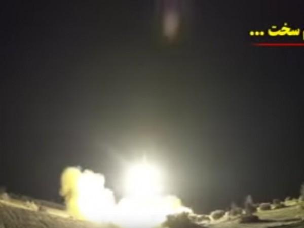 """Видео от ракетния удар по военната база на САЩ """"Айн"""
