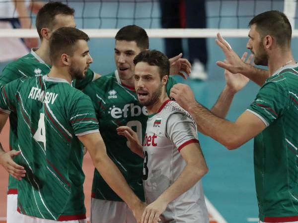 Българският национален отбор по волейбол се класира за полуфиналите на