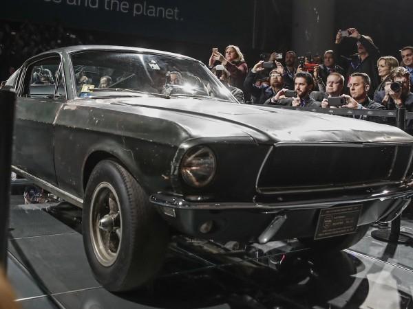 """Когато Ford разкри своя нов Mustang """"Bullitt"""" през 2018 г.,"""