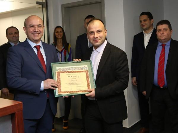 Сайтът Investor.bg бе отличен с голямата награда на Българската фондова