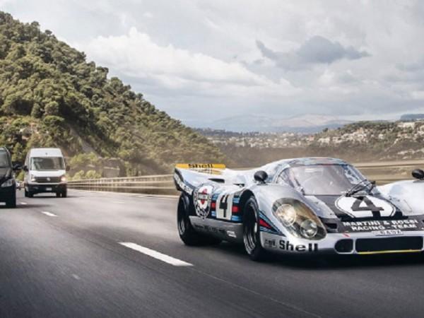 Porsche 917 бе създадено да лети по правата Мулсан в