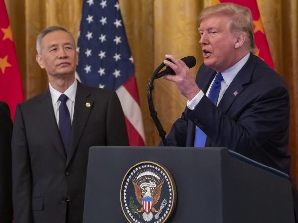 САЩ и Китай подписаха първа фаза от търговското споразумение помежду