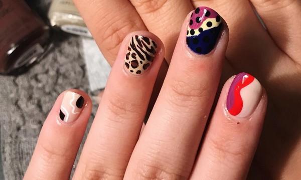 Свободни форми по ноктите - нова мода в маникюра