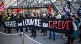 """""""Мона Лиза"""" в протест: Лувърът затвори заради стачките"""