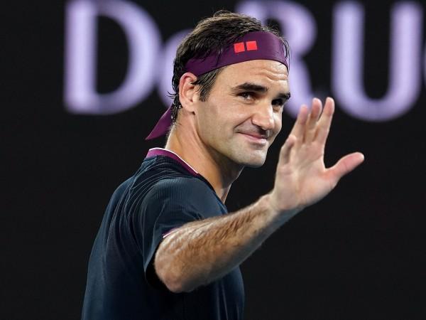 Рекордьорът по титли от Големия Шлем Роджър Федерер започна ударно