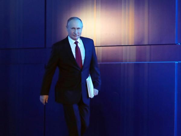 Руският президент Владимир Путин е внесъл в Държавната дума законопроекта