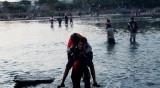 Стотици мигранти стигнаха Мексико през границата с Гватемала