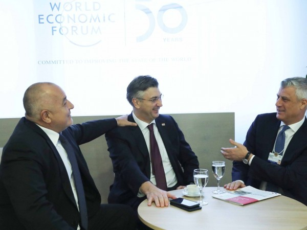 Премиерът Бойко Борисов проведе редица срещи с акцент Балкани в