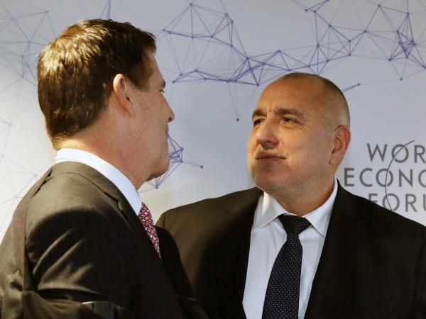 Министър-председателят Бойко Борисов се срещна със заместник-държавния секретар по икономически