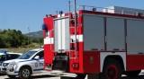 Бус се запали в движение между Пловдив и Пазарджик