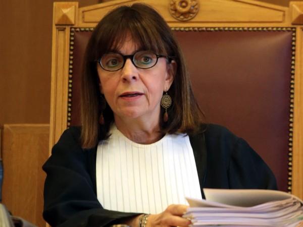 Екатерини Сакеларопулу беше избрана за президент на Гърция днес. Тя