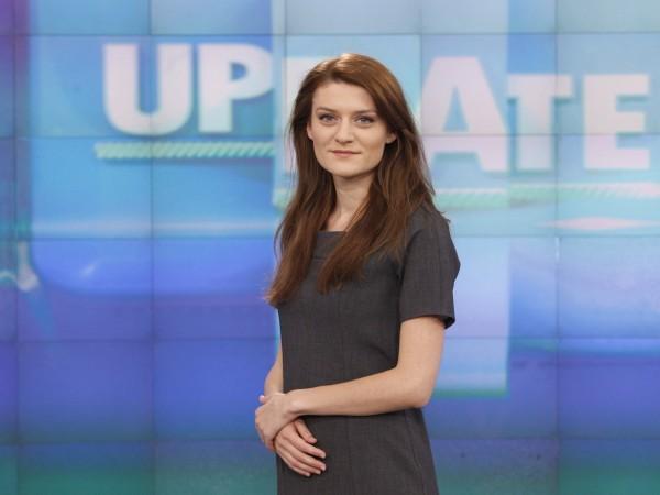 Елена Кирилова е водеща на технологичното предаване UpDate по Bloomberg