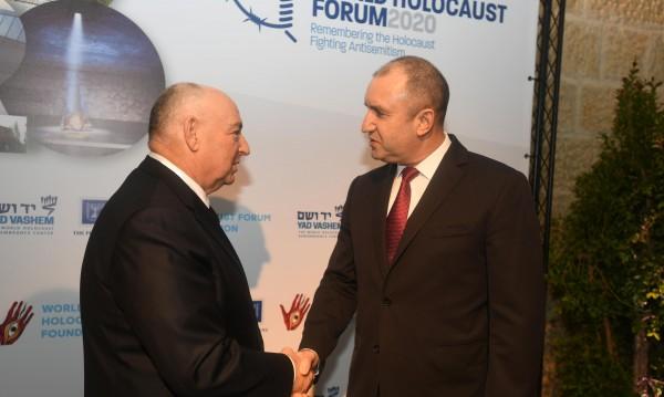 Радев припомни в Израел: България спаси българските евреи!