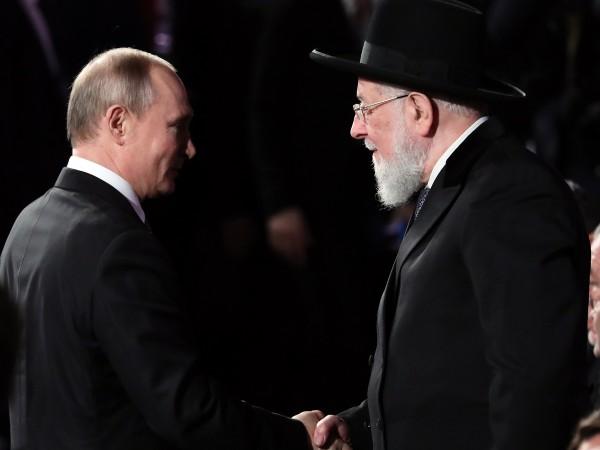 Холокостът е обща трагедия на Израел и Русия, а антисемитизмът