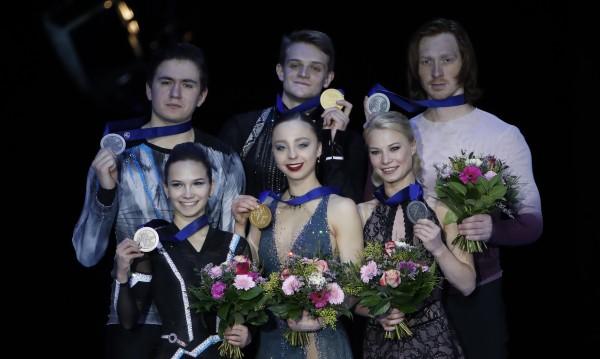 Русия обра медалите при спортните двойки в Грац