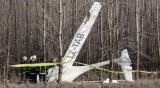 Малък самолет падна в гора село Бъзен, двама са пострадали