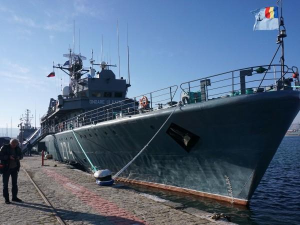 Кораби на НАТО акостираха на морската гара във Варна. Те