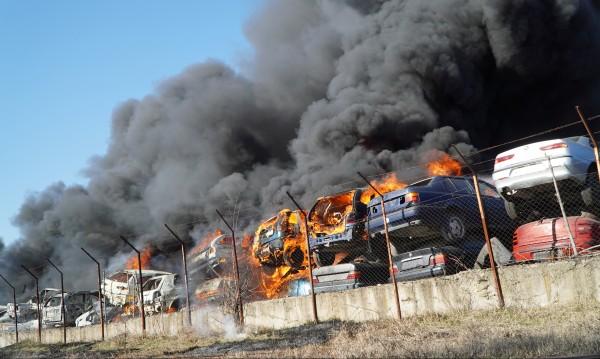 Пожарът в хасковска автоморга ще се разследва от прокуратурата