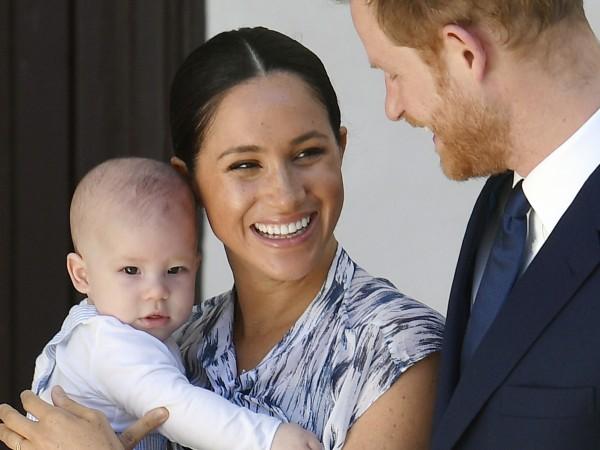 38-годишната бивша актриса, която се омъжи за принц Хари през