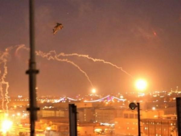 Три от петте ракети, изстреляни вчера в Багдад, паднаха върху