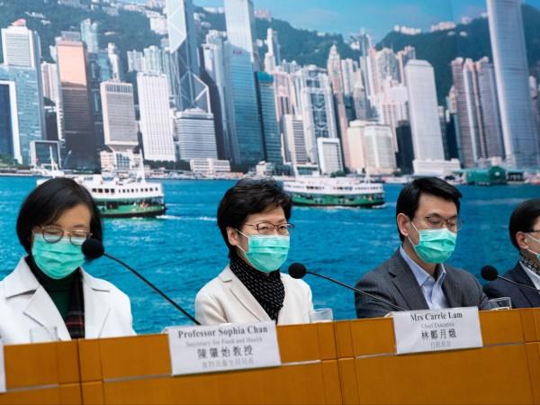 Върховният представител на Хонконг Кари Лем обяви драстични мерки, с