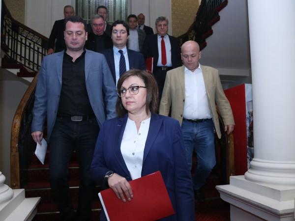 В сряда парламентът ще гласува внесения от БСП вот на