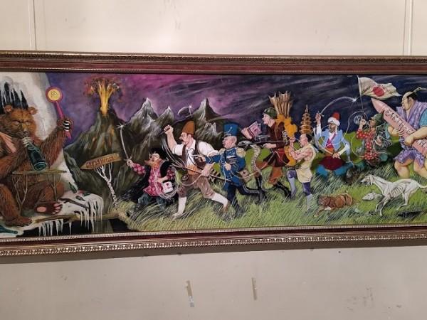 Изложба на художника Ивайло Димитров ще украсява Софийската филхармония до