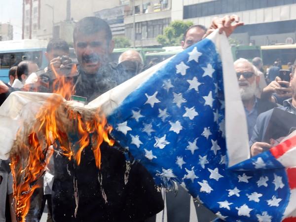 На фона на напрежението между САЩ и Иран в град,