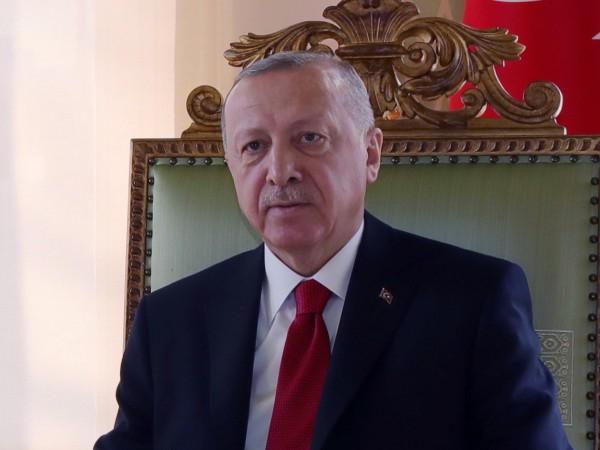 Президентът на Турция Реджеп Тайип Ердоган отново потвърди позицията си