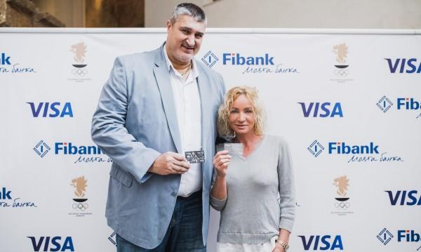 """Резултат с изображение за """"Fibank представя новата Visa с дизайн на Олимпийските игри"""""""