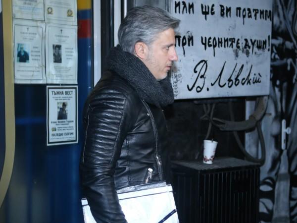 Изпълнителният директор на Левски Павел Колев говори след срещата с
