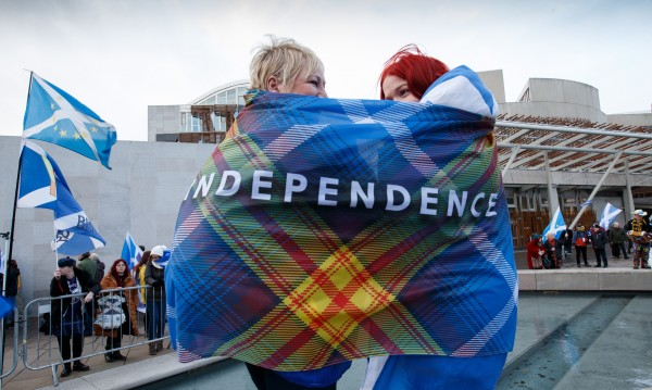 Въпрос на време е Шотландия да се отдели от Великобритания
