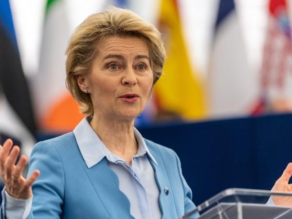 В обръщението си към Европейския парламент Урсула фон дер Лайен