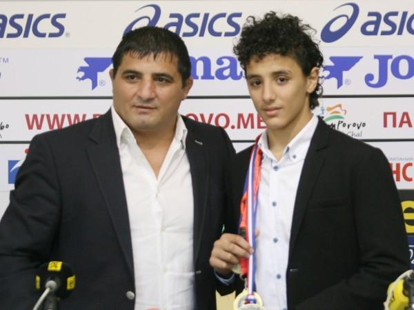 Изключителен дебют на Едмонд Назарян при мъжете.18-годишният син на двукратния