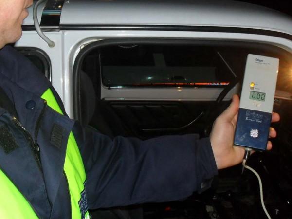 Полицията залови пиян шофьор в Петрич с наличието на 4