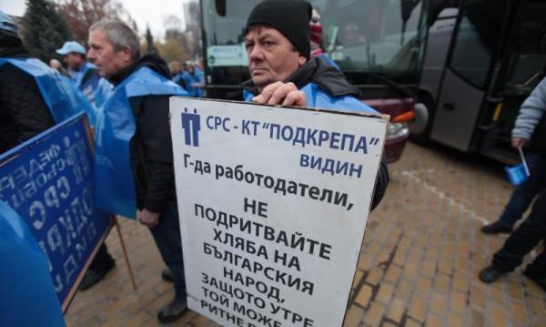 """Синдикатите готвят протест, не приемат """"Зелената сделка"""""""