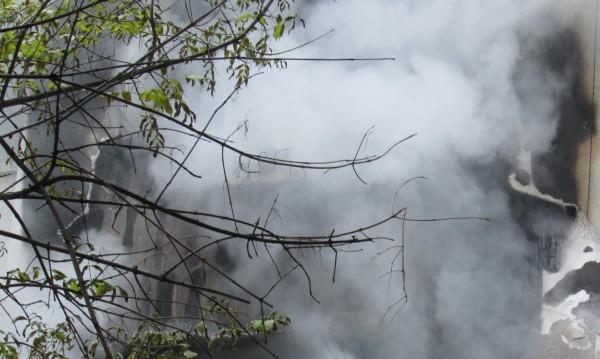 Газова бутилка предизвика пожар в Русе