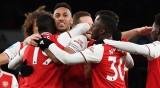 Арсенал отнесе Нюкасъл с 4:0 за едно полувреме