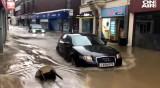 "След бурята ""Денис"": Изчезнали хора, свлачища, наводнения"
