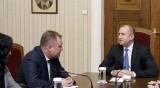 Радев обсъди промени в Конституцията с шефа на ВАС