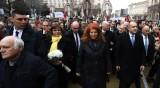 Започна гражданското шествие с участието на президента Радев