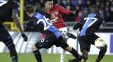 Ман Юнайтед направи равенство при гостуването на Брюж