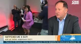 Михаил Миков: Няма да участвам в избора за лидер на БСП