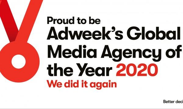 OMD е глобална медийна агенция за 2020 година