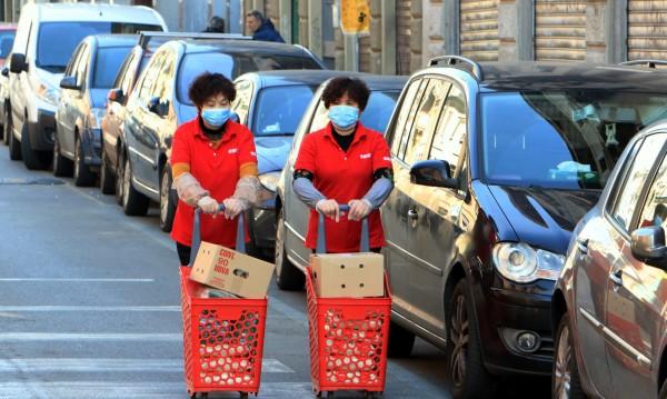 Заразените с коронавирус в Италия достигна 283 души